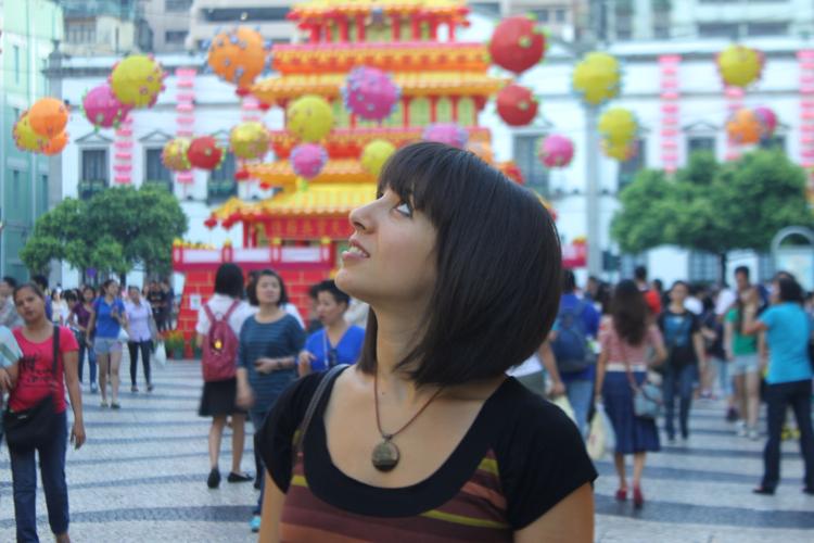 Lanterns Senatu Square Macau