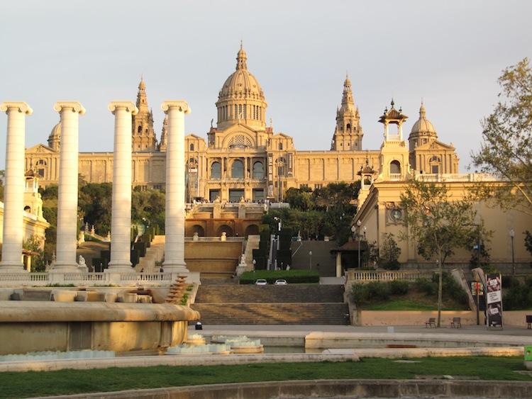 Palau Nacional, Barcelona, Spain (May)