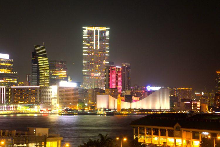 The Skyline of Hong Kong (September)