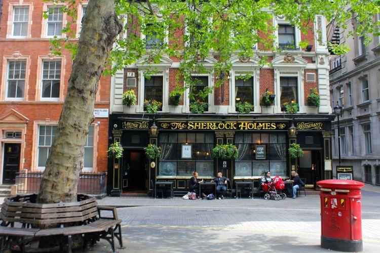 'The Sherlock Holmes', London, UK (May)