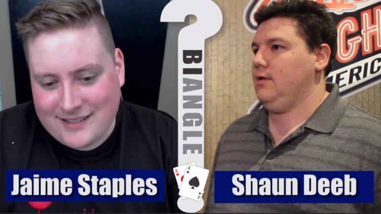 Jaime Staples vs. Shaun Deeb – POKER BIANGLE part 1