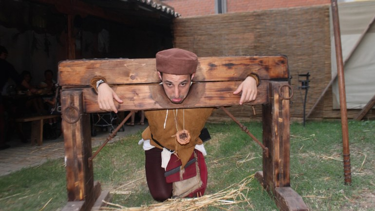 The Best Medieval Festival Ever! Palio of Isola Dovarese, Italy