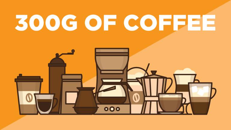 300g of Coffee