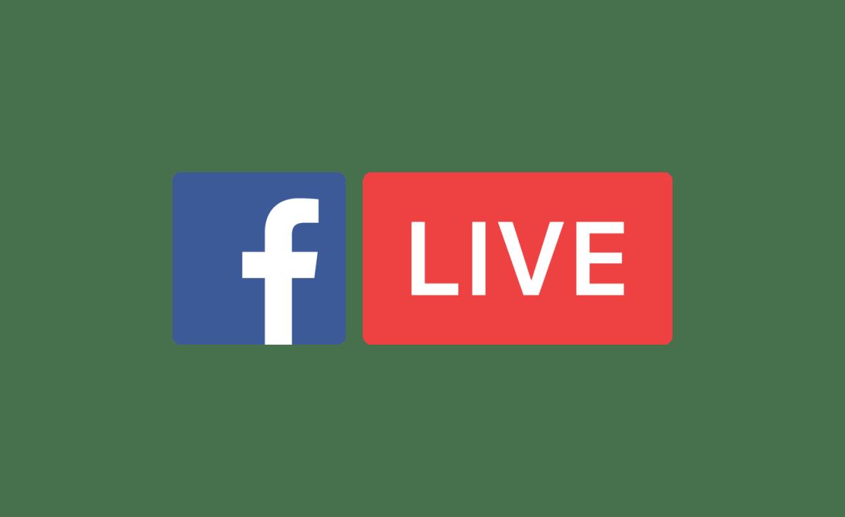 Il logo di Facebook live