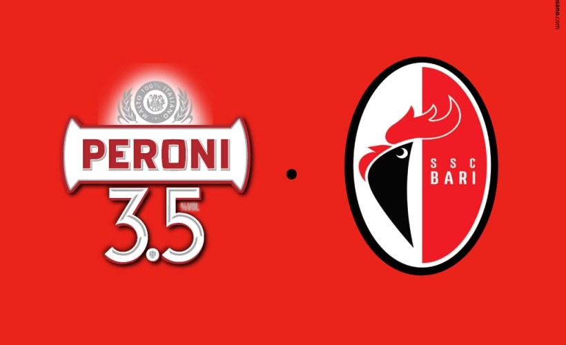 Peroni 3,5 è la birra ufficiale della SSC BARI