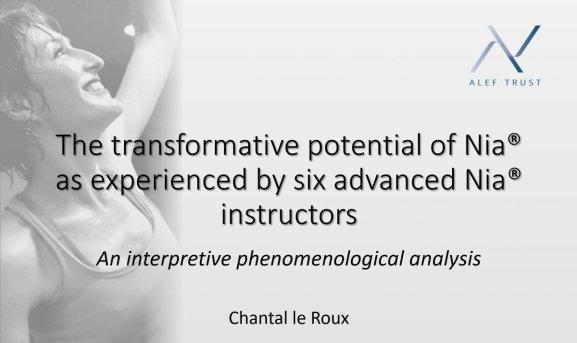 Transformative Potential of Nia