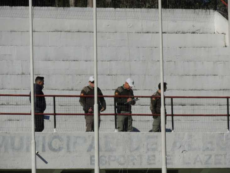 Brigada Militar realiza minuciosa vistoria no Estádio Farroupilha