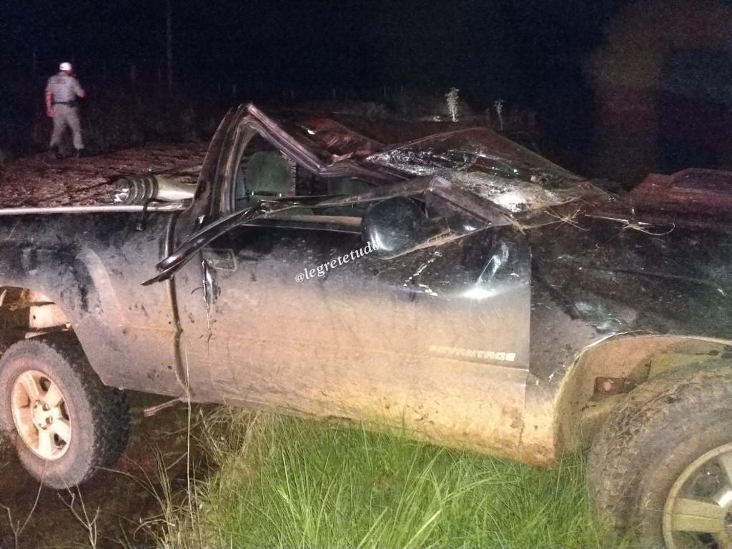 Empresário, de Alegrete, morre em grave acidente na estrada do Caverá
