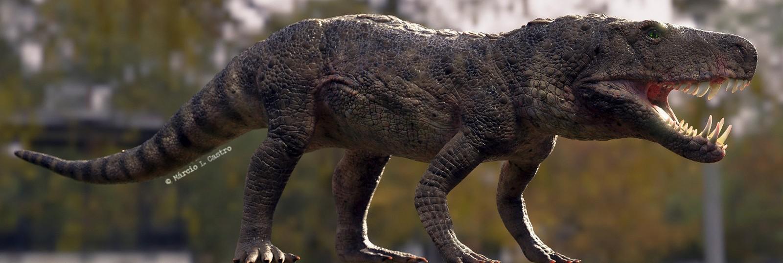 Pesquisa apresenta réptil raro que conviveu com dinossauros em Agudo