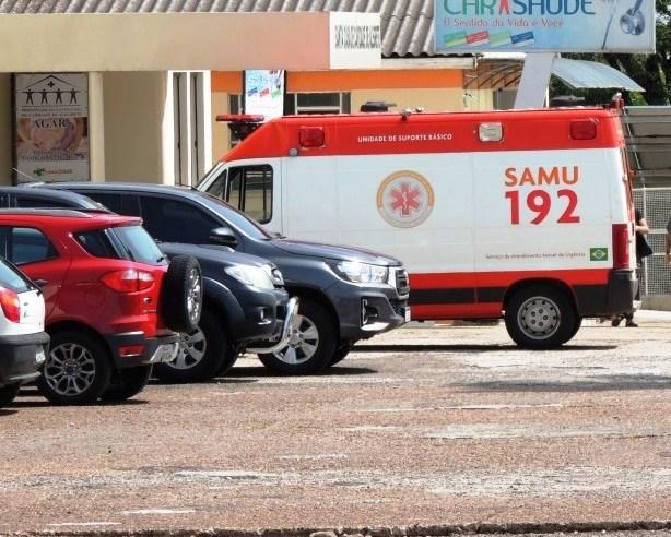 Trabalhador que teve ferimentos graves no interior foi removido para Uruguaiana