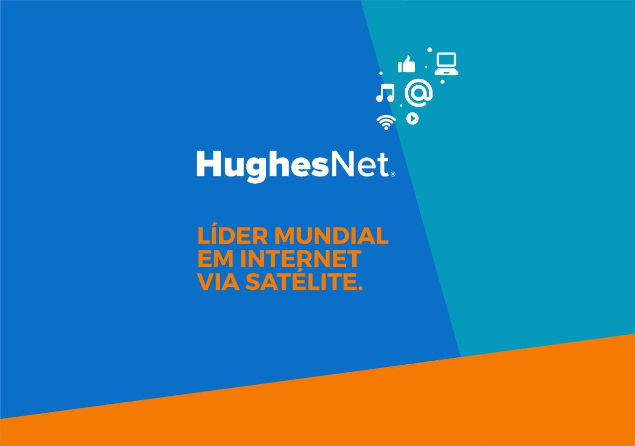 HughesNet, a sua internet via satélite