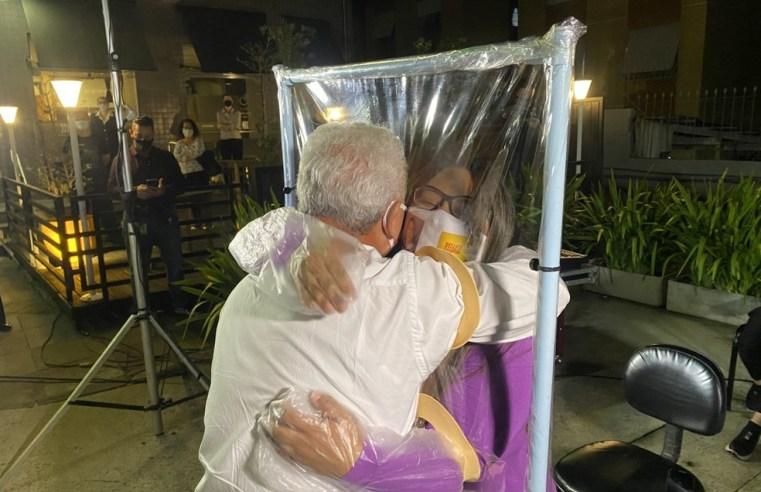 Com abraço entre pai e filha que não se viam há 29 anos, Desafio Farroupilha exibe dança em homenagem aos profissionais da saúde