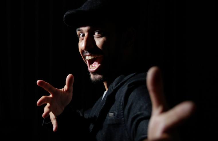 Iluminador, videomaker, cinegrafista e ator: conheça o talento nato do alegretense Alisson