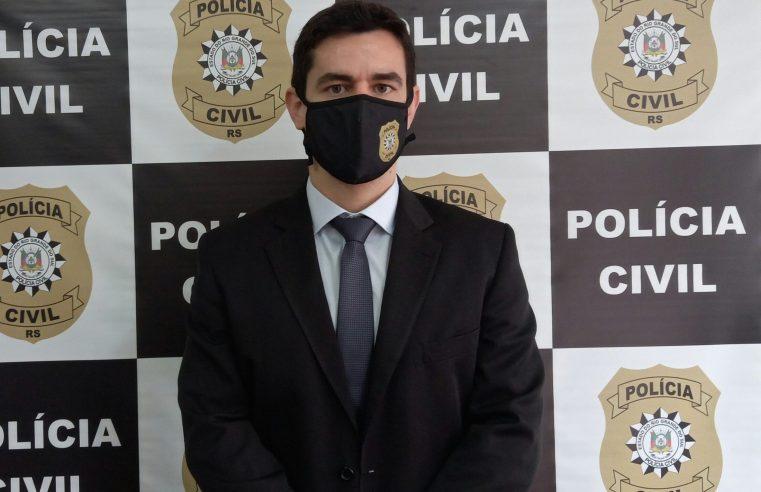 Maurício Arruda inicia por Alegrete sua carreira como Delegado de Polícia