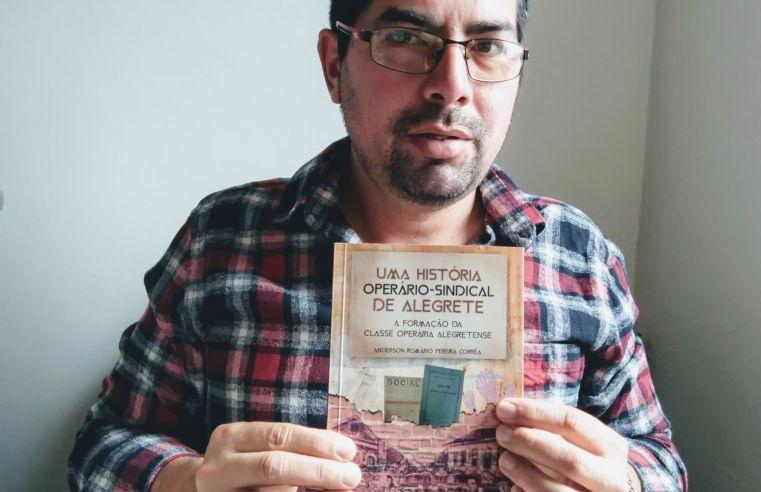 Professor alegretense faz relançamento de clássico da historiografia alegretense