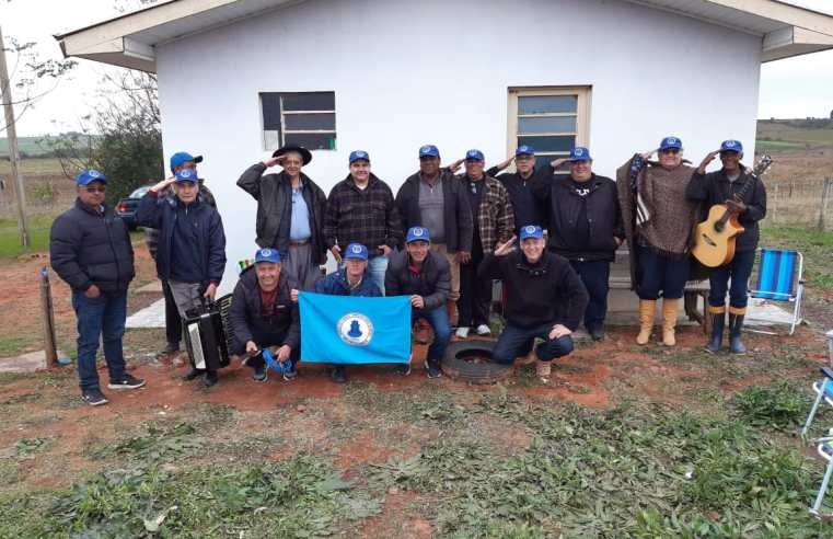 Grupo Velha Guarda, de ex-militares do 12° BE Comb, está construindo sede para os encontros anuais