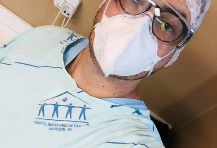 Profissional de saúde da equipe Covid descreve as agruras e exaustão nesta pandemia