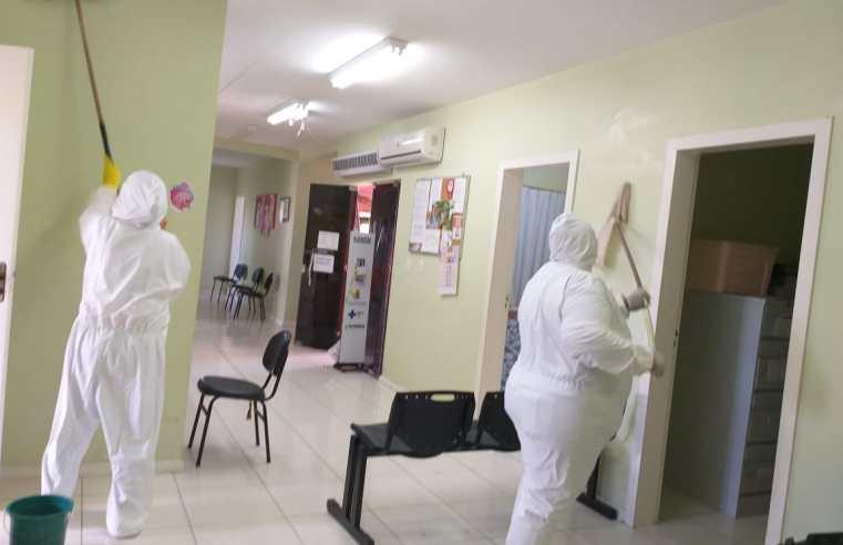 Unidades de saúde de Alegrete vão passar por desinfecção