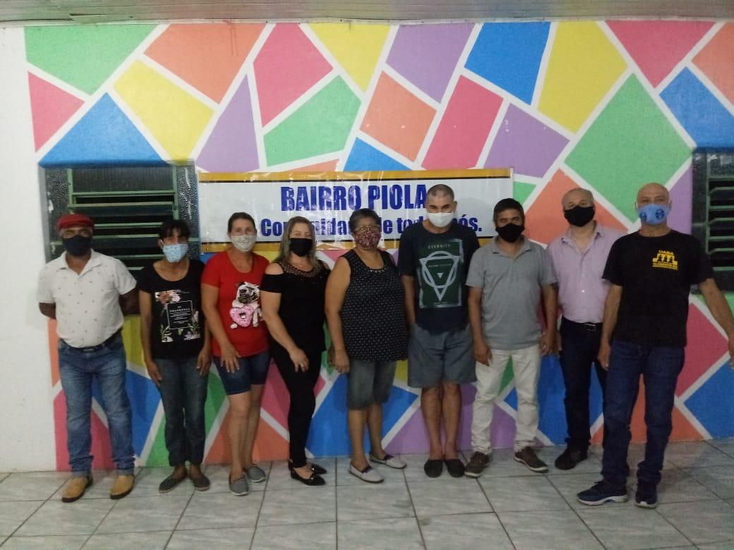 Comunidade da Vila Piola reelege presidente do bairro para mais três anos