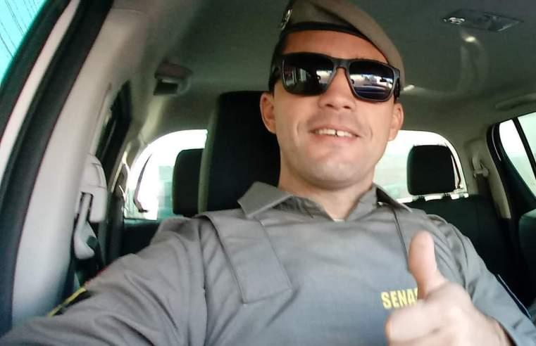 Policial de Alegrete, em patrulhamento de rotina, ajuda salvar banhista na Barra do Chuí