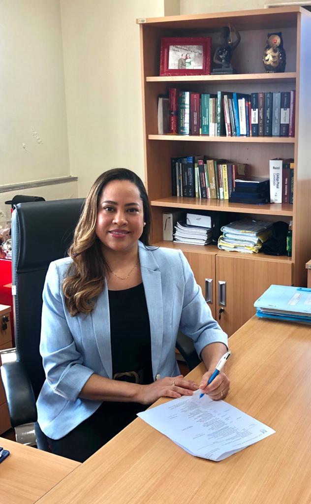 Dra Marcela, juíza de Santos, é a nova diretora do Fórum de Alegrete