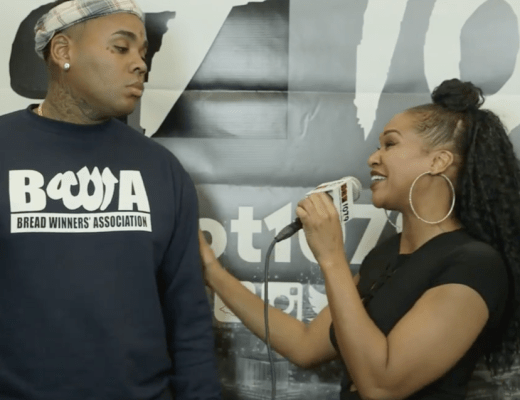 Kevin Gates Explains Reaction After Interviewer Touches Him