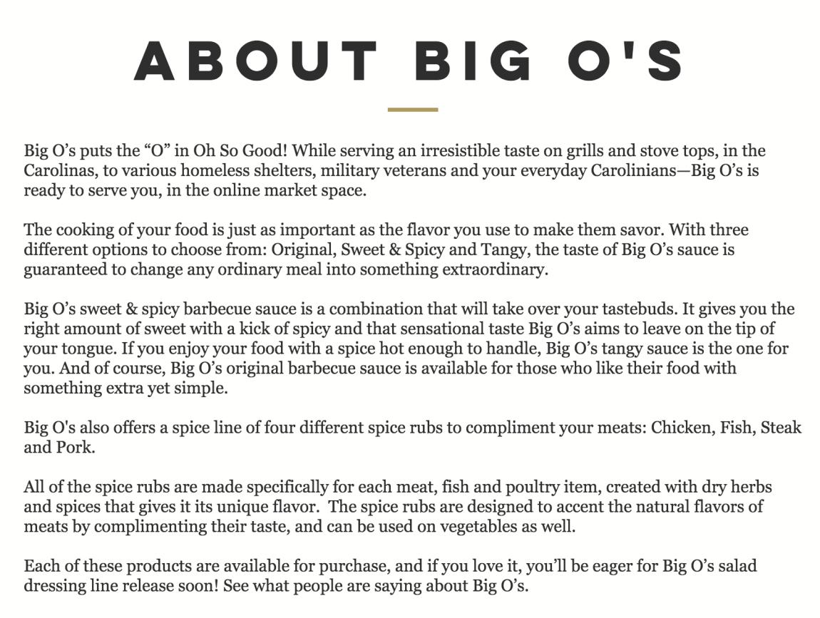 Big O's Website Builder & Content Writer