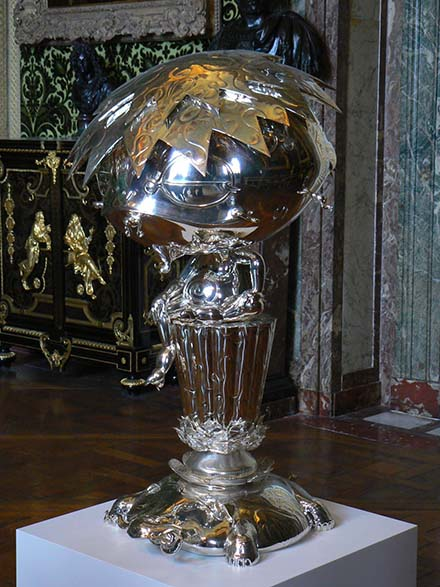 31 Oval Buddha silver a