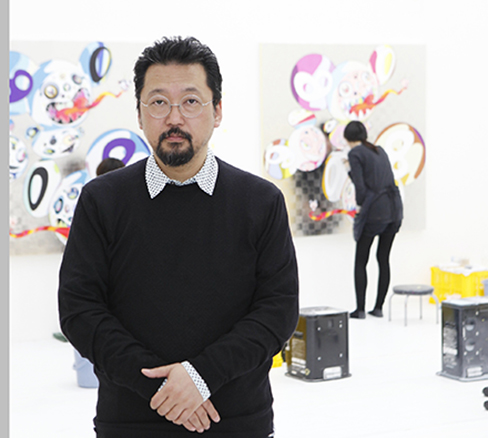 35 Takashi-Murakami-in-his-atelier