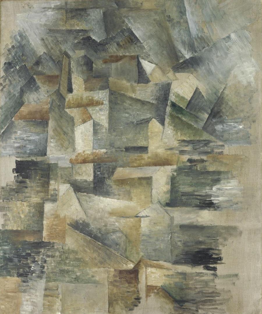 Resultado de imagen para georges braque cubismo
