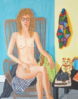 Ellen, oil on canvas, 100 x 80 cm, 2016