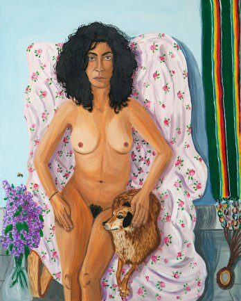 Karen, oil on canvas, 100 x 80 cm, 2016