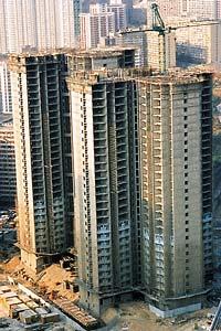 Edificio estructurado con una combnacion de marcos rigidos y muros de cortante