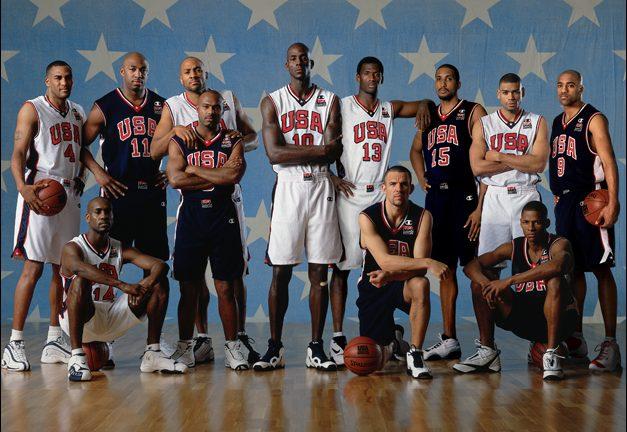 El equipo USA para los Juegos de Sydney 2000