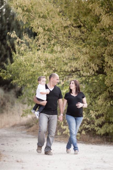 foto de pareja embarazo Granada