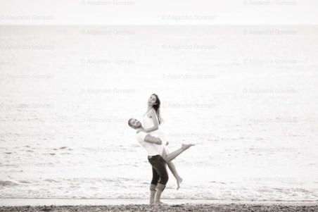 book de fotos en playa