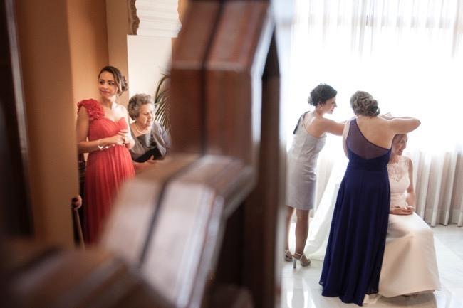 fotos boda novia granada