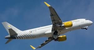 Vueling Airbus A320 EC-LZN que ofrecerá WiFi