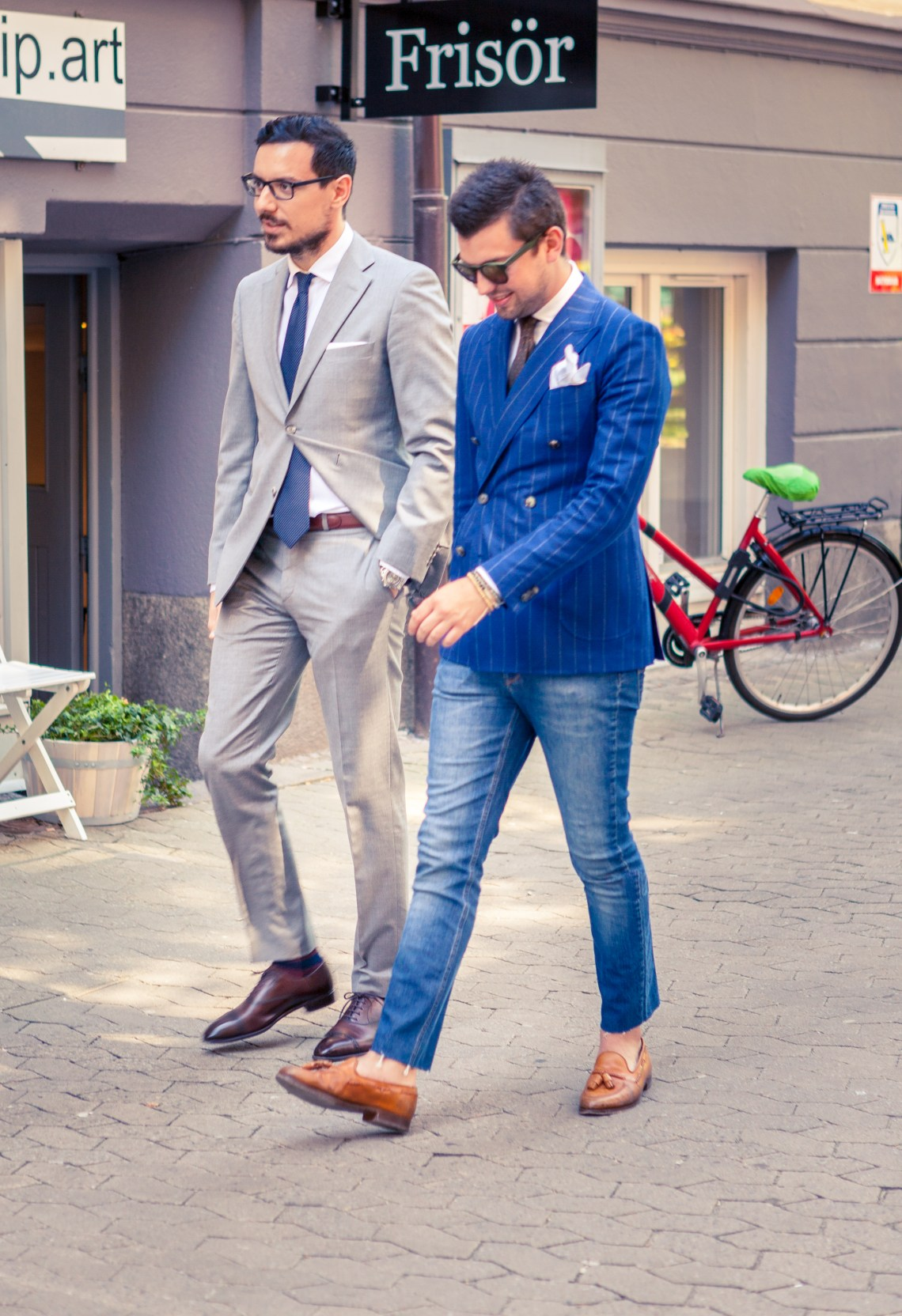 Light Grey Business Suit