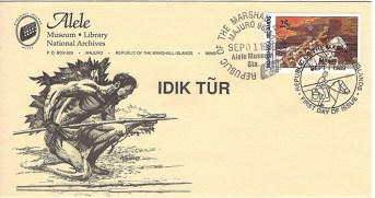 Alele Postal Sub-Station First Day Cover - Idik Tur