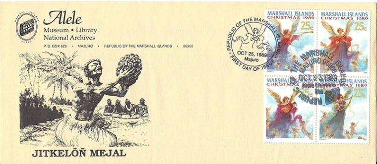 Alele Postal Sub-Station First Day Cover - Jitkelon Mejal