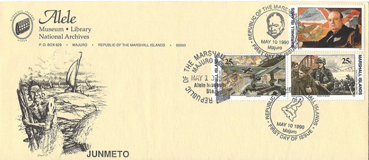 Alele Postal Sub-Station First Day Cover - Junmeto