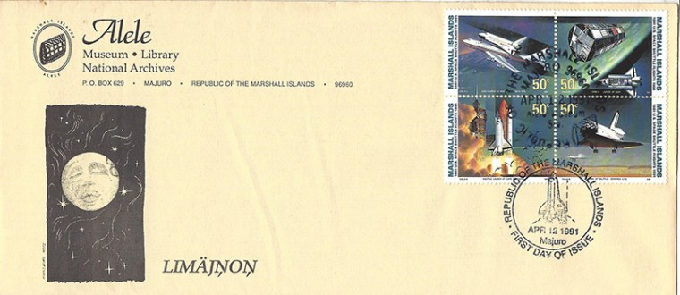Alele Postal Sub-Station First Day Cover - Lemajnon