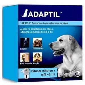 Difusor Elétrico Ceva Adaptil + Refil Para Cães 48ml – 220v