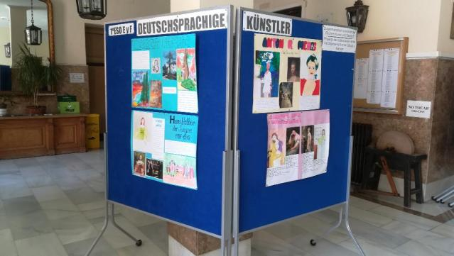 Zusammenarbeit zwischen den Fachschaften Kunst und Deutsch