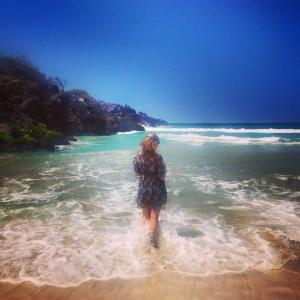 me in ocean