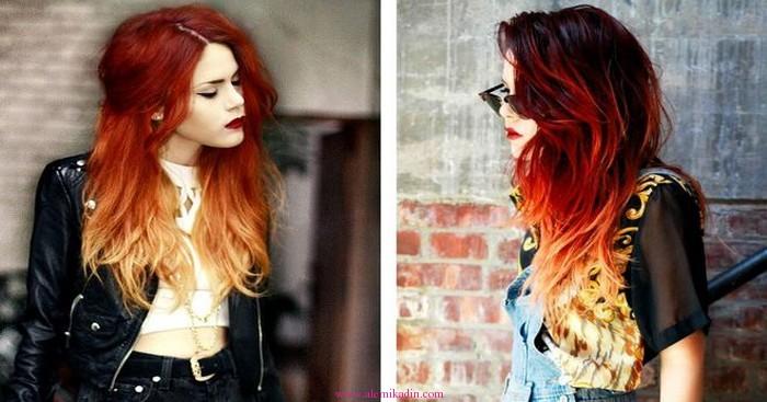 Kızıl-Saç-Ombre-Modelleri