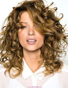 Kıvırcık Saç Modelleri 6