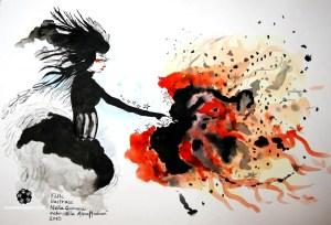 Malba akvarelem