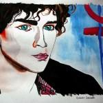 Rober Sheenan akvarelova kresba
